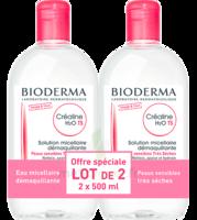 CREALINE TS H2O Solution micellaire sans parfum nettoyante apaisante 2Fl/500ml à Bassens