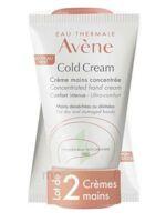 Avène Eau Thermale Cold Cream Duo Crème Mains 2x50ml à Bassens
