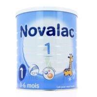 NOVALAC 1 Lait en poudre 1er âge B/800g à Bassens