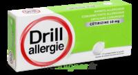 Drill 10 Mg Comprimés à Sucer Allergie Cétirizine Plq/7 à Bassens