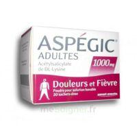 Aspegic Adultes 1000 Mg, Poudre Pour Solution Buvable En Sachet-dose 20 à Bassens
