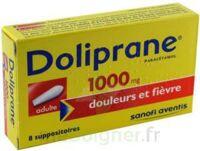 Doliprane 1000 Mg Suppositoires Adulte 2plq/4 (8) à Bassens