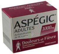 Aspegic Adultes 1000 Mg, Poudre Pour Solution Buvable En Sachet-dose 15 à Bassens
