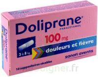 Doliprane 100 Mg Suppositoires Sécables 2plq/5 (10) à Bassens