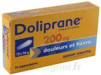 Doliprane 200 Mg Suppositoires 2plq/5 (10) à Bassens