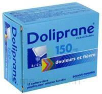 Doliprane 150 Mg Poudre Pour Solution Buvable En Sachet-dose B/12 à Bassens