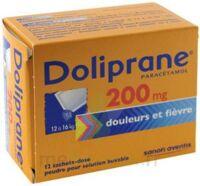 Doliprane 200 Mg Poudre Pour Solution Buvable En Sachet-dose B/12 à Bassens