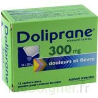 Doliprane 300 Mg Poudre Pour Solution Buvable En Sachet-dose B/12 à Bassens