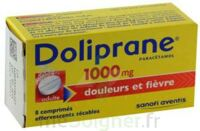 DOLIPRANE 1000 mg Comprimés effervescents sécables T/8 à Bassens