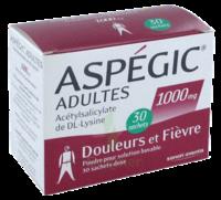 Aspegic Adultes 1000 Mg, Poudre Pour Solution Buvable En Sachet-dose 30 à Bassens