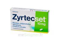 Zyrtecset 10 Mg, Comprimé Pelliculé Sécable à Bassens