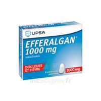Efferalgan 1000 Mg Comprimés Pelliculés Plq/8 à Bassens