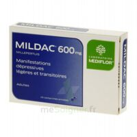 MILDAC 600 mg, comprimé enrobé à Bassens