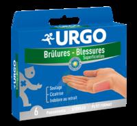 Urgo Brulures-blessures Petit Format X 6 à Bassens