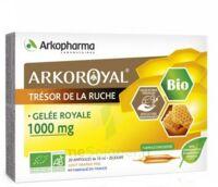 Arkoroyal Gelée Royale Bio 1000 Mg Solution Buvable 20 Ampoules/10ml à Bassens
