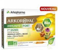 Arkoroyal Immunité Fort Solution Buvable 20 Ampoules/10ml à Bassens