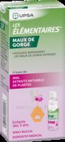 Les Elementaires Spray Buccal Maux De Gorge Enfant Fl/20ml à Bassens
