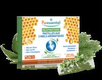 Puressentiel Respiratoire Pastilles Respiratoire aux 3 miels aromatiques - 18 pastilles à Bassens