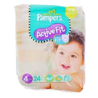 PAMPERS COUCHES ACTIVE FIT TAILLE 4 7-18 KG x 26 à Bassens