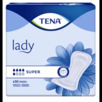 Tena Lady Protection Anatomique Adhésive Super Sachet/30 à Bassens