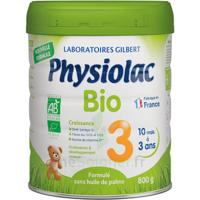 Physiolac Bio Lait 3éme Age 800g à Bassens
