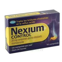 NEXIUM CONTROL 20 mg Cpr gastro-rés Plq/14 à Bassens