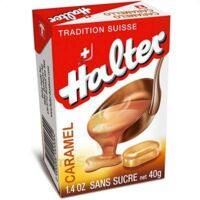 HALTER Bonbons sans sucre caramel à Bassens