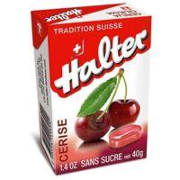 Bonbons sans sucre Halter cerise à Bassens