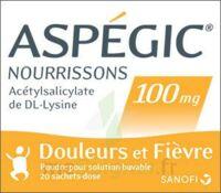 Aspegic Nourrissons 100 Mg, Poudre Pour Solution Buvable En Sachet-dose à Bassens
