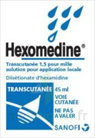 HEXOMEDINE TRANSCUTANEE 1,5 POUR MILLE, solution pour application locale à Bassens