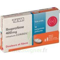 Ibuprofene Teva Conseil 400 Mg, Comprimé Pelliculé