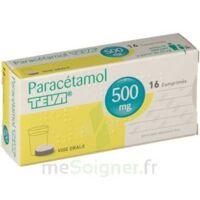 Paracetamol Teva 500 Mg, Comprimé à Bassens