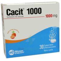 CACIT 1000 mg, comprimé effervescent à Bassens