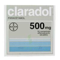 Claradol 500 Mg, Comprimé Effervescent Sécable à Bassens