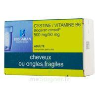 CYSTINE/VITAMINE B6 BIOGARAN CONSEIL 500 mg/50 mg Cpr pell Plq/120 à Bassens