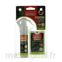 Insect Protect Spray Peau + Spray VÊtements Fl/18ml+fl/50ml à Bassens
