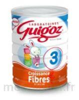 GUIGOZ 3 LAIT DE CROISSANCE FIBRES  800G à Bassens