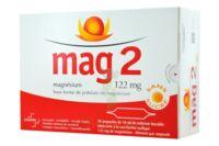 MAG 2 122 mg S buv en ampoule sans sucre édulcoré à la saccharine sodique 30Amp/10ml à Bassens