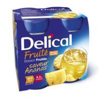 DELICAL BOISSON FRUITEE Nutriment ananas 4Bouteilles/200ml à Bassens