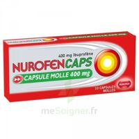 Nurofencaps 400 Mg Caps Molle Plq/10 à Bassens