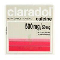 Claradol Cafeine 500 Mg/50 Mg, Comprimé Effervescent à Bassens
