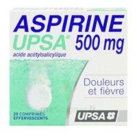 Aspirine Upsa 500 Mg, Comprimé Effervescent à Bassens