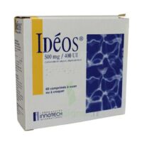 IDEOS 500 mg/400 UI, comprimé à sucer ou à croquer à Bassens