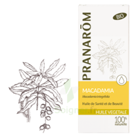 Pranarom Huile Végétale Bio Macadamia 50ml à Bassens