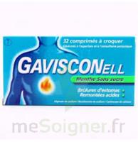 Gavisconell Coprimés à Croquer Sans Sucre Menthe édulcoré à L'aspartam Et à L'acésulfame Potas Plq/24 à Bassens