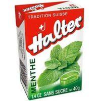 HALTER Bonbons sans sucre menthe à Bassens