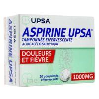 Aspirine Upsa Tamponnee Effervescente 1000 Mg, Comprimé Effervescent à Bassens