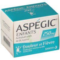 Aspegic Enfants 250, Poudre Pour Solution Buvable En Sachet-dose à Bassens
