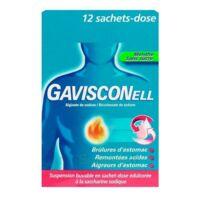 GAVISCONELL Suspension buvable sachet-dose menthe sans sucre 12Sach/10ml à Bassens
