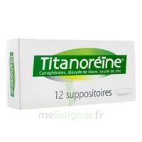 Titanoreine Suppositoires B/12 à Bassens